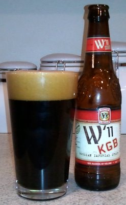Widmer W'11 KGB Russian Imperial Stout