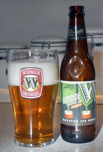 Widmer Hopside Down India Pale Lager