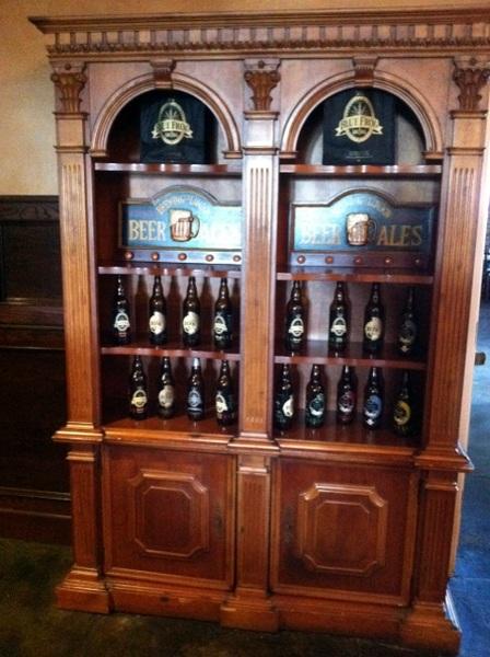 Blue Frog beer cabinet