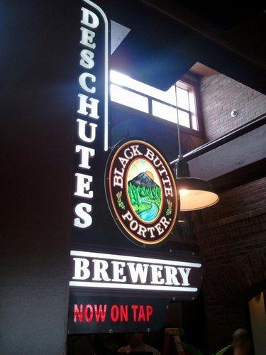 Deschutes Brewery sign