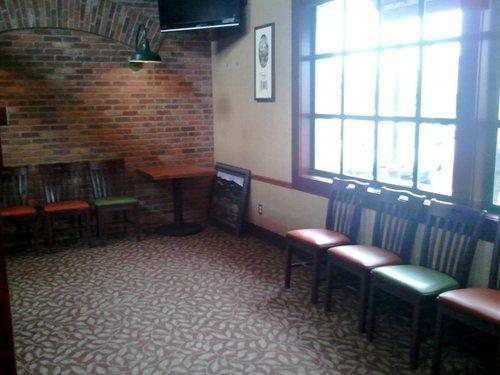 Deschutes Brewery waiting area