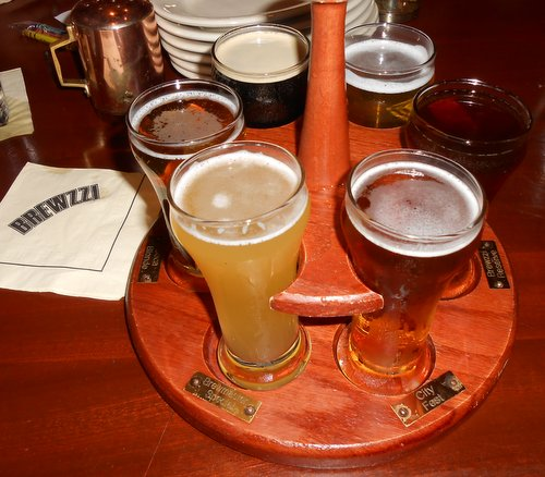 Brewzzi beer sampler