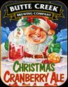 Butte Creek Christmas Cranberry Ale (label)
