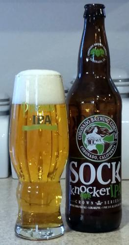Coronado Brewing Sock Knocker Imperial IPA