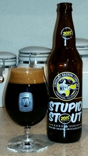 Coronado Brewing Stupid Stout