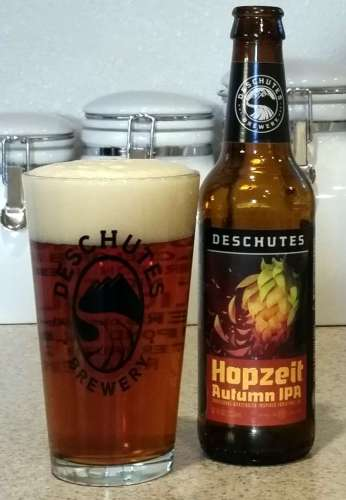 Deschutes Brewery Hopzeit Autumn IPA