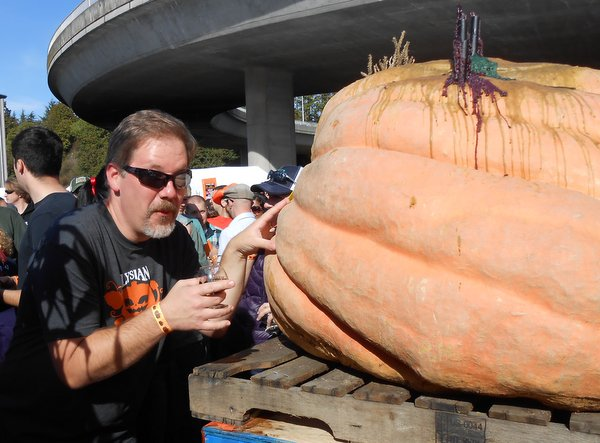 Jon and the Giant Pumpkin