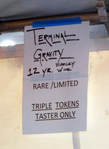 Terminal Gravity 12-year barleywine