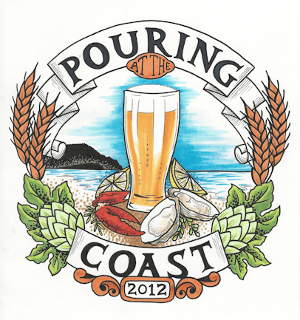 Pouring at the Coast Craft Beer Fest