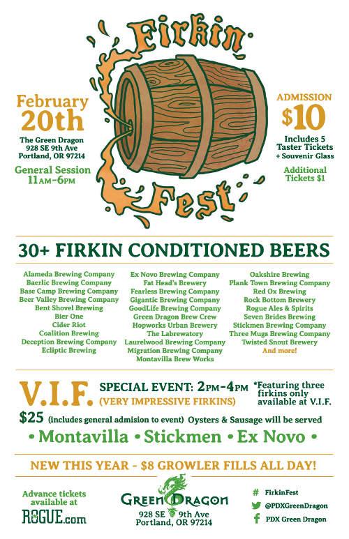 Firkin Fest 2016 poster