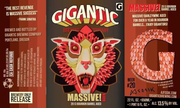 Gigantic MASSIVE! Barleywine