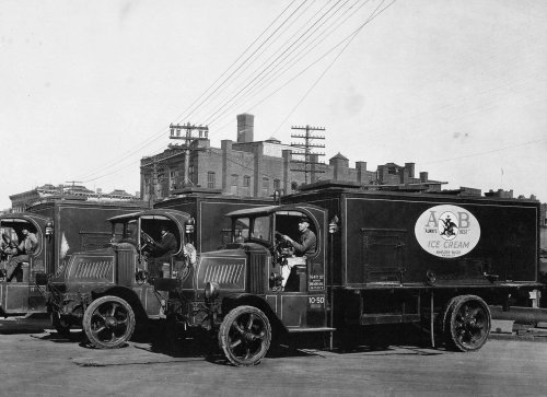 Anheuser-Busch Prohibition-era ice cream trucks