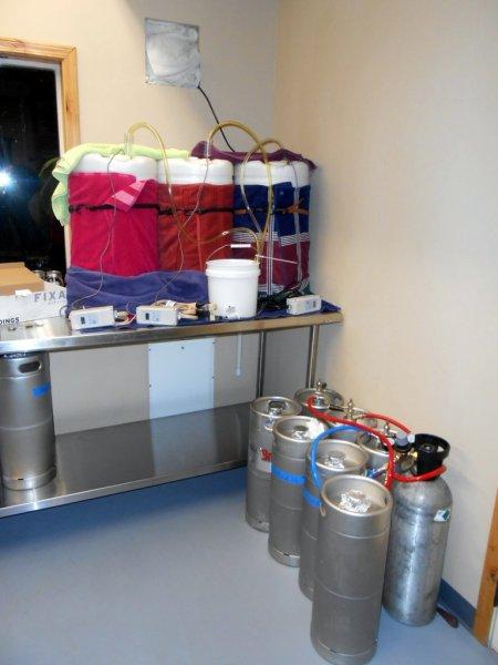 Monkless Belgian Ales, fermenters