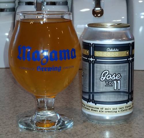 Oakshire Gose to 11