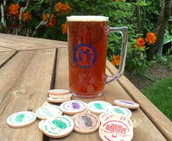 Oregon Brewers Festival 2016 mug