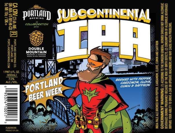 Portland Beer Week Subcontinental IPA