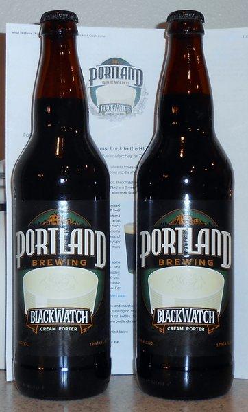 Portland Brewing BlackWatch Cream Porter
