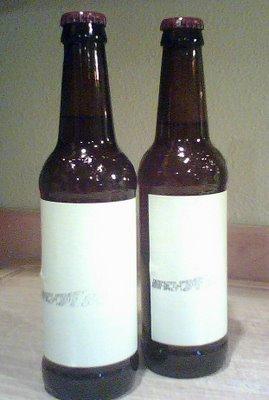 Deschutes Brewery taste test bottles