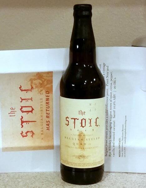 Deschutes Brewery The Stoic 2015