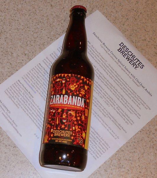 Deschutes Brewery Zarabanda