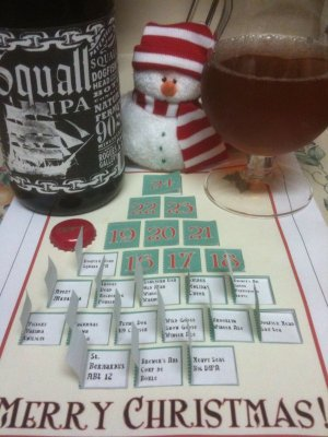 Real beer advent calendar