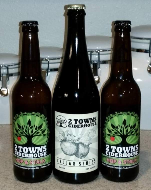 Received: 2 Towns specialty ciders