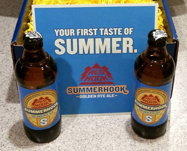 Received: Redhook Brewery Summerhook