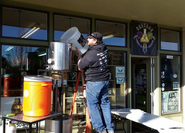 Redmond Craft Brewing Supply, owner Jesse Sweetman