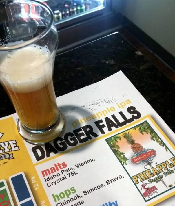 Sockeye Brewing Pineapple Dagger Falls IPA