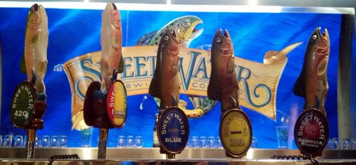 SweetWater Draft House in the Atlanta airport