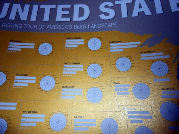 United States of Beer up close