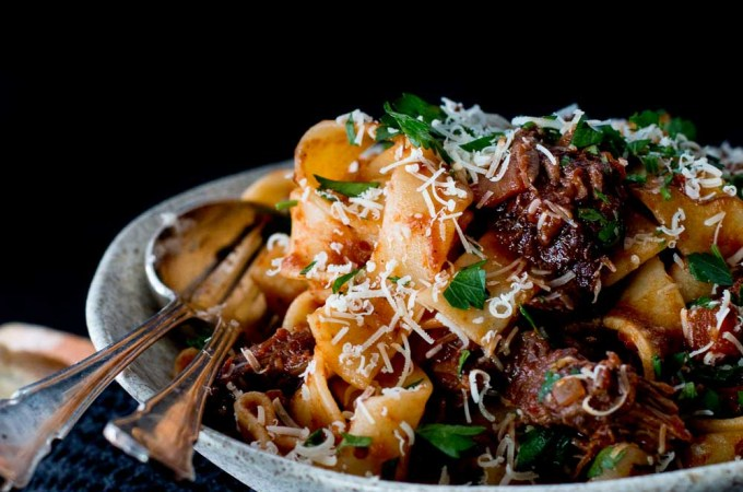 Beef Cheek Ragu with Parpadelle
