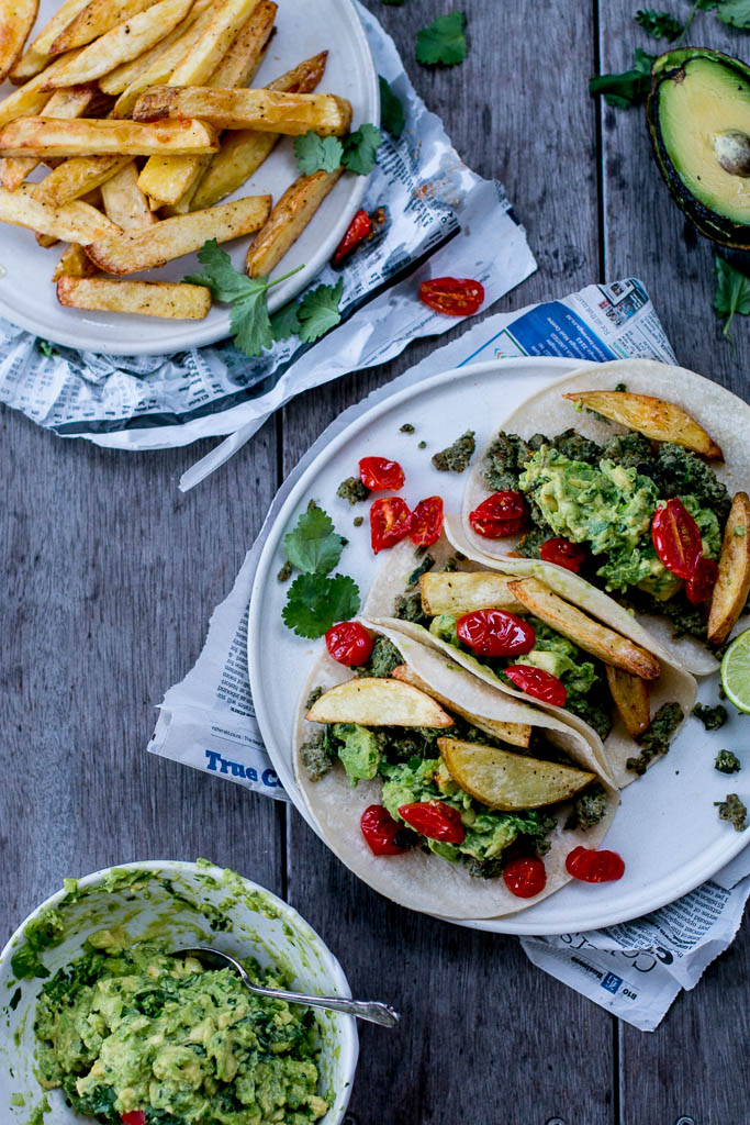 Green Chorizo Tacos - The Brick Kitchen