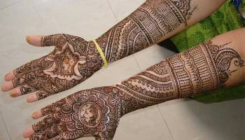 Gorgeous Bridal Mehndi Designs : 50 indian mehndi designs that are beautifully traditional