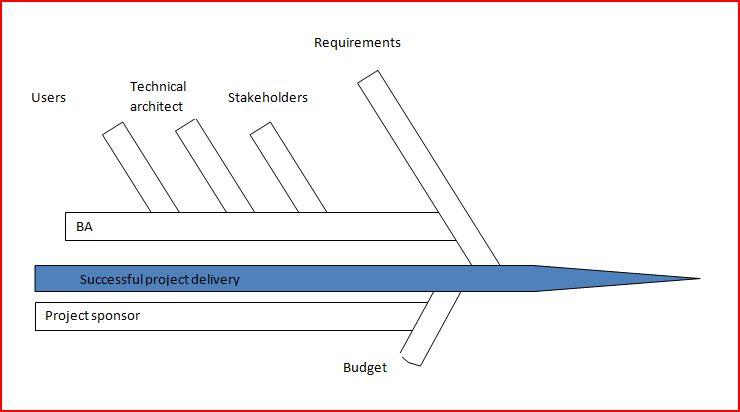 Stakeholder fishbone chart