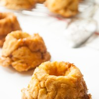 Mini Pumpkin Spice Monkey Bread