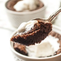 Kahlua Brownies for Two