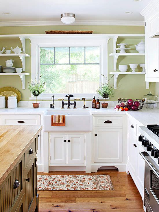 Today s Country Kitchen Decorating     The Budget Decorator Country kitchen