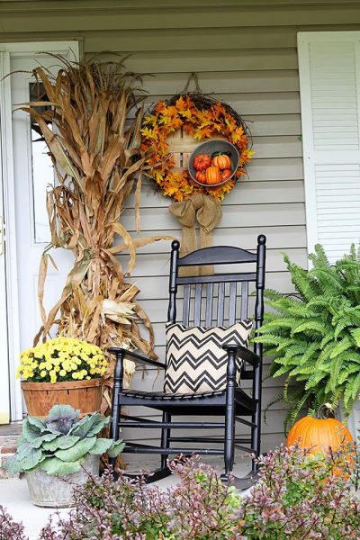 13 Easy and Inexpensive Fall Decorating Ideas • The Budget Decorator