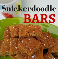 Snickerdoodle Bars Feature Image