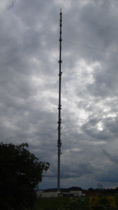 Waltham transmitter mast