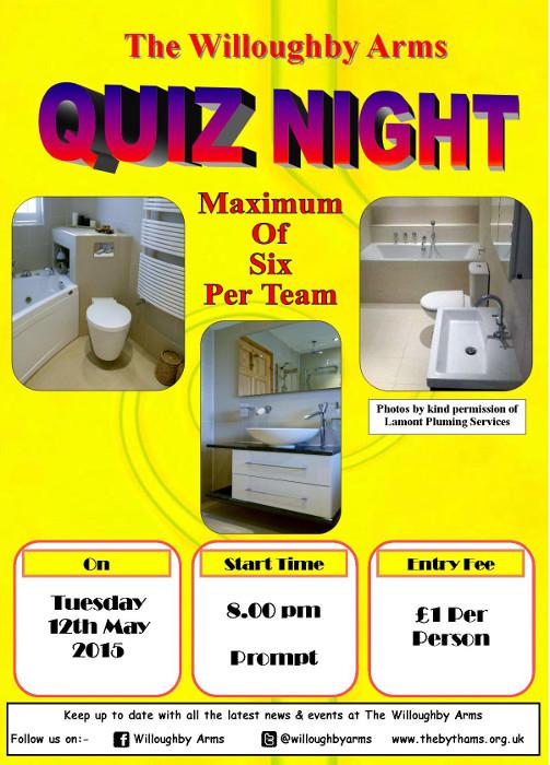 Pub quiz poster (12-05-2015)