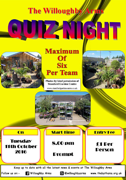 Pub quiz poster (11-10-2016)