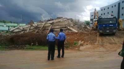 6 rescued, 2 trapped in Abuja building collapse | TheCable