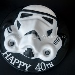 Star Wars Storm Trooper 3D cake