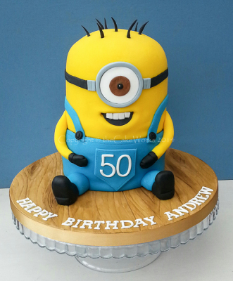 Despicable Me Minion Cakes Andrews Birthday