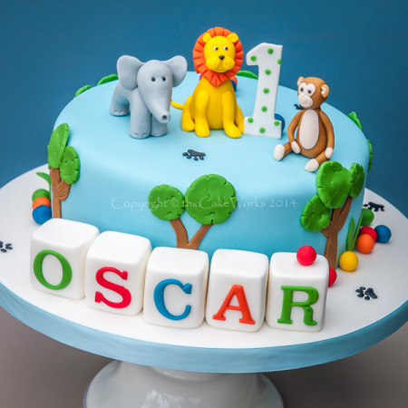 Jungle cake Birthday cakes Boys cakes Childrens party cakes