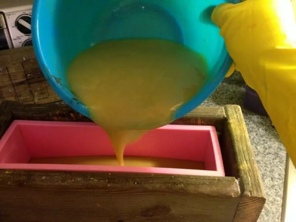 Make your own soap! Cold process soap making