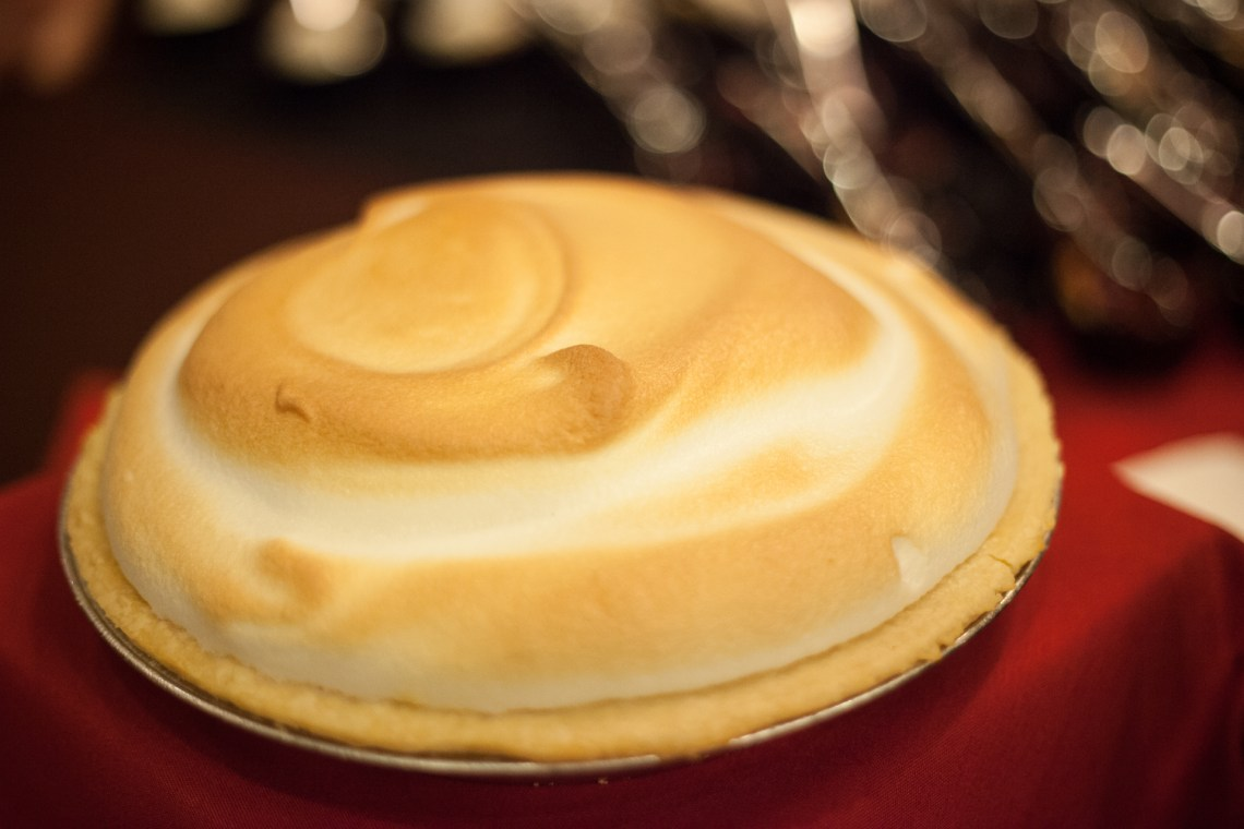 A lemon meringue pie from Marie Callender's. Photo: Alex Paris