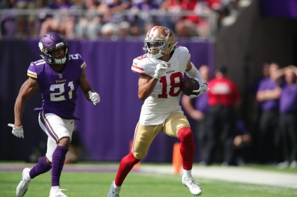 JSerra alum Dante Pettis was selected by the San Francisco 49ers in the second round of the NFL Draft. Pettis was the first JSerra graduate ever selected in the NFL Draft. Photo: San Francisco 49ers